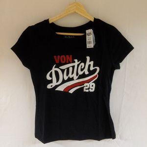 Von Dutch t-shirt size medium